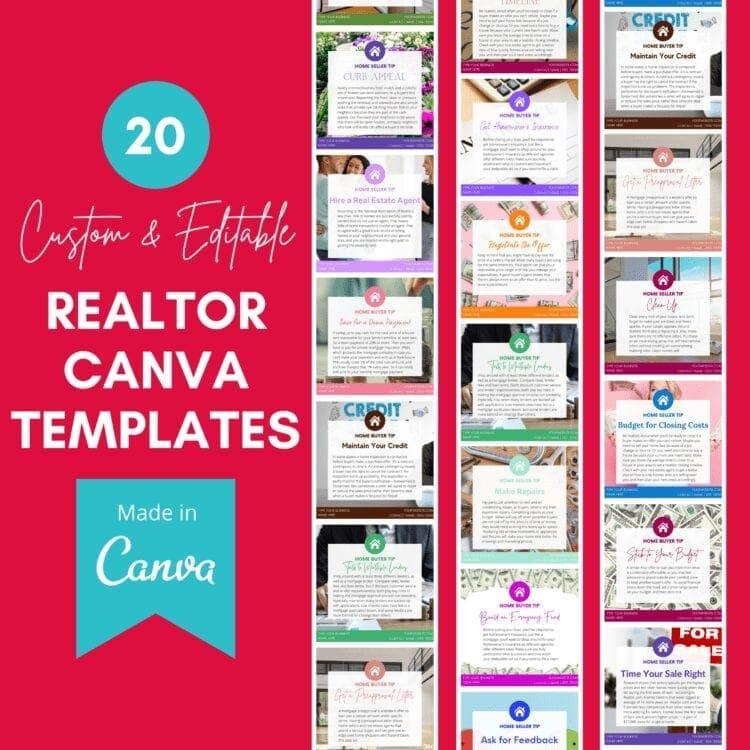 canva templates, realtor canva templates, real etsate canva templates, canva templates for real estate, canva templates for realtors, canva instagram templates, canva realtor instagram templates