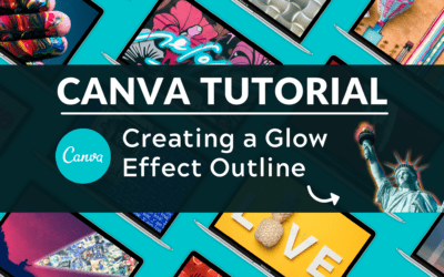 How to Create a Glowing Outline Effect in Canva