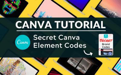 Secret Canva Element Codes