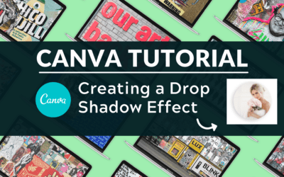 How to Create a Drop Shadow in Canva
