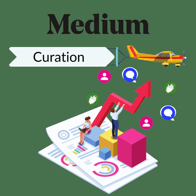 medium curation, get curate don medium, medium curators, how to get curated on medium, curation medium