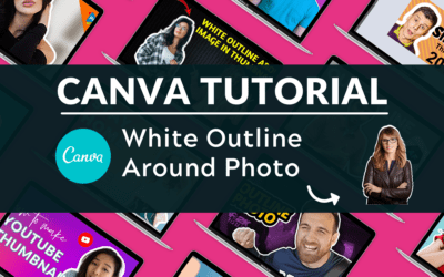 How to Add a White Outline to Photos (White Silhouette)