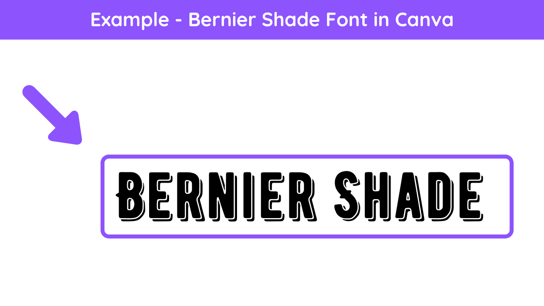 bakerie bold, Best Cursive Fonts on Canva