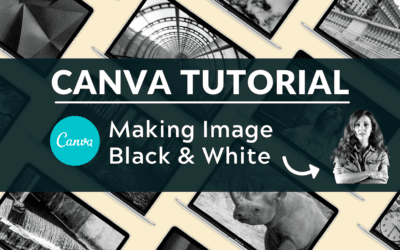 How to Make an Image Black and White in Canva