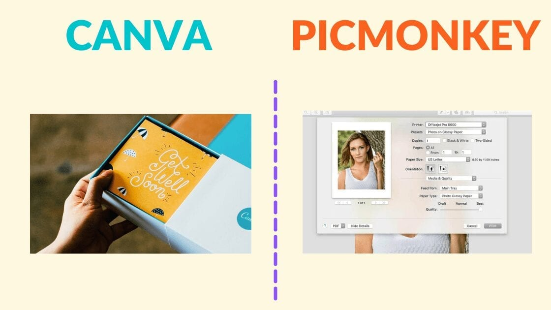 canva printing, picmonkey printing, printing images from canva, printing from canva, printing designs from canva, print from picmonkey