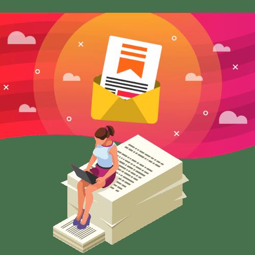 substack newsletter, substack, substack logo, substack illustration
