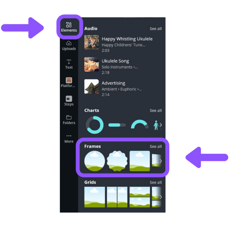 canva custom frame, canva elements, canva letter frames, canva fill shape with image, how to use frames in canva mobile app, how to flip a frame in canva, canva frames not working