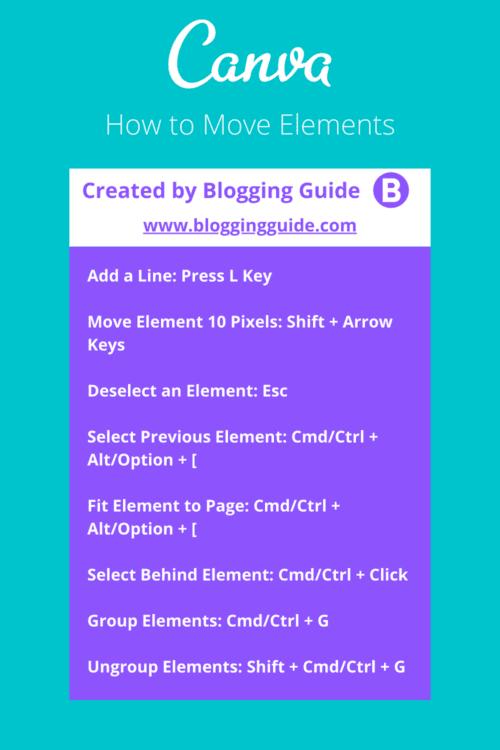 canva presentation shortcuts, canva keyboard shortcuts, canva shortcuts pdf, how to move elements in canva, can't move elements in canva, canva elements won't move, canva move elements