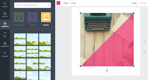 canva frame, canva custom frame, photoholder letters canva, canva fill shape with image, how to use frames in canva