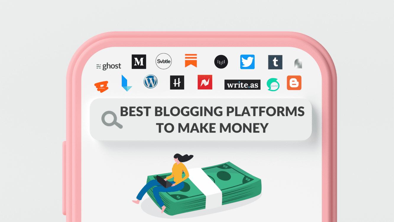 Best blogging platform to make money 2021, Best blogging platforms 2021, Best blogging sites to make money in India, Medium blogging, medium blogging guide, Best earning blogging sites, Best Blogging Platforms to Make Money, The Best Free Blogging Platforms, Which blogging platform is best for making money