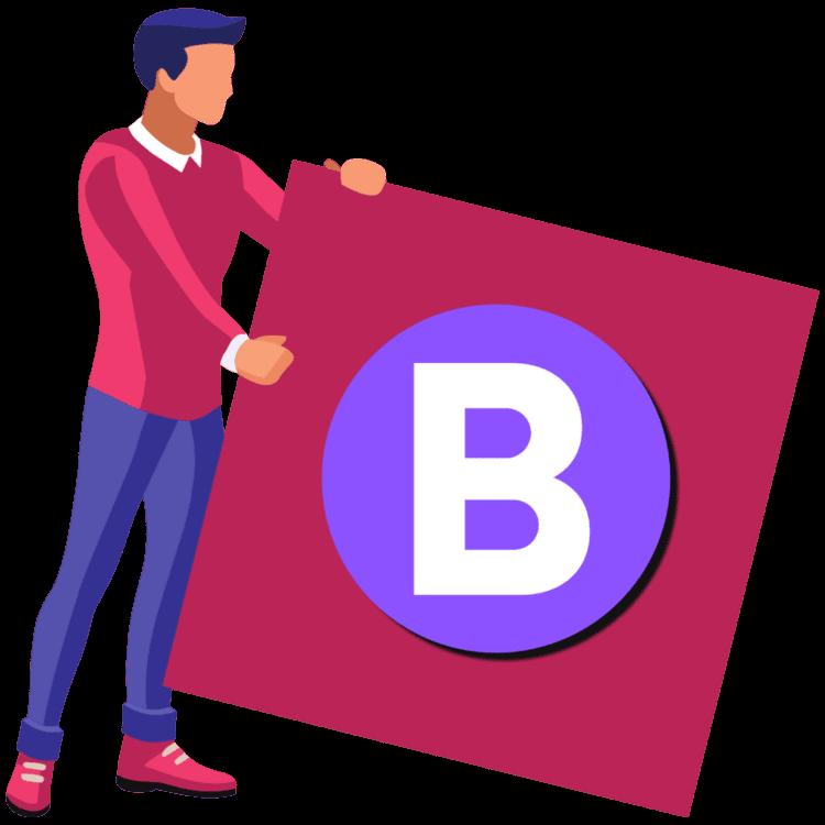 Blogging Guide Flag Logo Icon