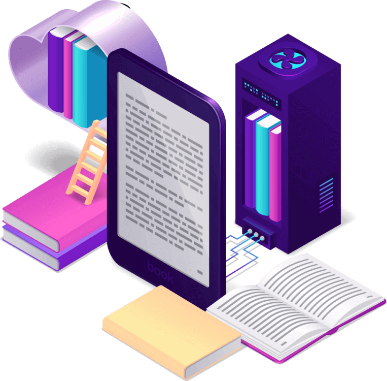 Blogging Guide Store Isometric Icon