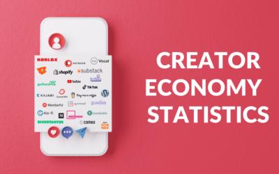 Creator Economy Statistics: Top Earning Creators by Platform