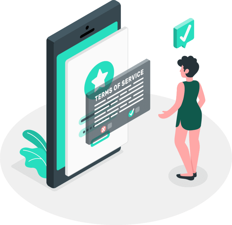 Privacy Policy Isometric by Blogging Guide