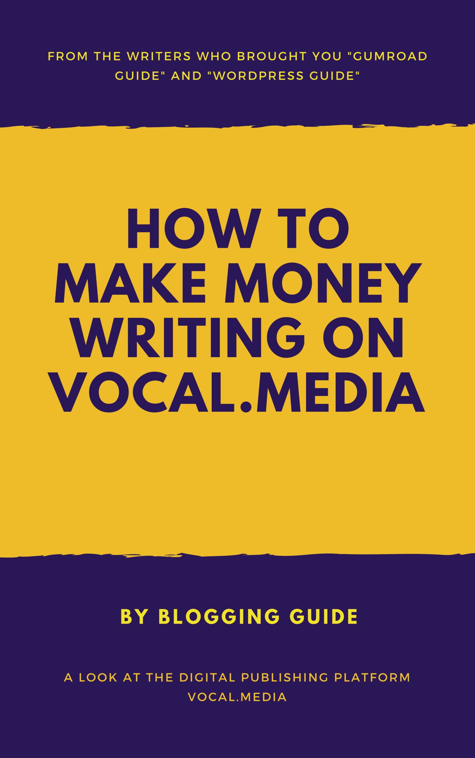 Vocal eBook Cover by Blogging Guide