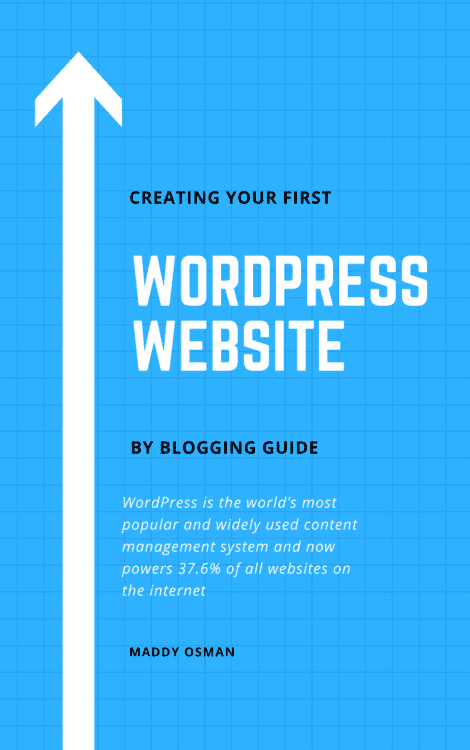 WordPress eBook Cover by Blogging Guide