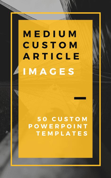 50 Medium Custom Article Images PPT Templates
