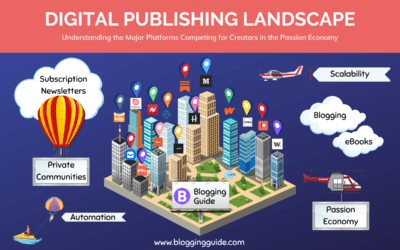 The Digital Publishing Landscape Powered by the Passion Economy