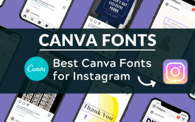 Best Canva Fonts for Instagram