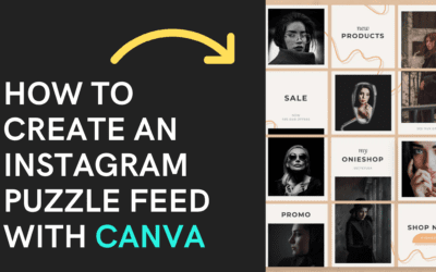 How to Create an Instagram Puzzle Feed with Canva